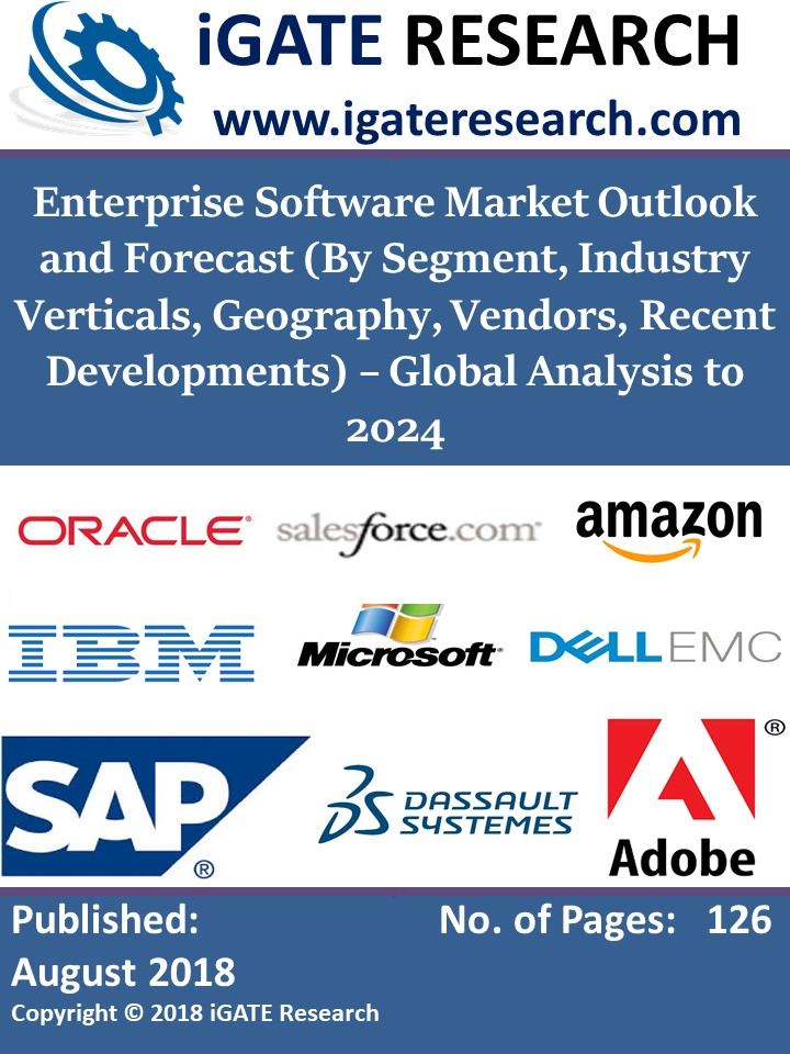 Enterprise Software Market Outlook and Forecast (By Segment, Industry Verticals, Geography, Vendors, Recent Developments) – Global Analysis to 2024