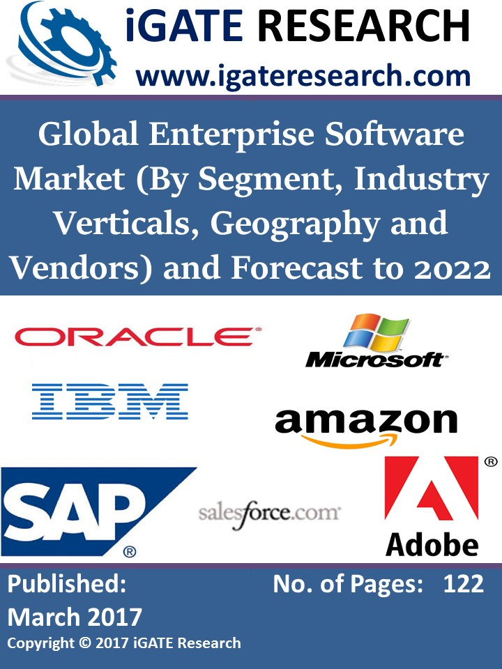Global Enterprise Software Market (By Segment, Industry Verticals, Geography and Vendors) and Forecast to 2022