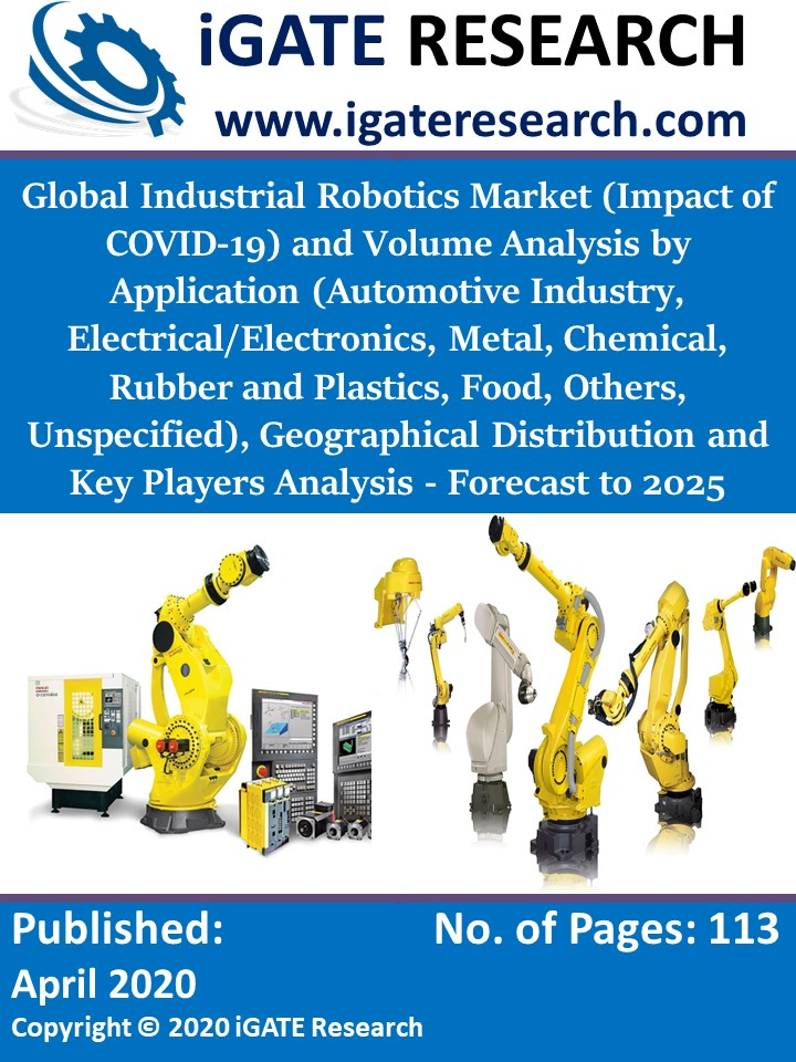 Global Industrial Robotics Market (Impact of COVID-19) and Volume Analysis by Application, Geographical Distribution and Key Players Analysis - Forecast to 2025
