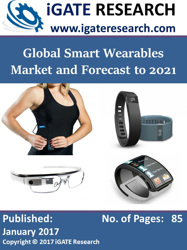 Global Smart Wearables Market and Forecast to 2021