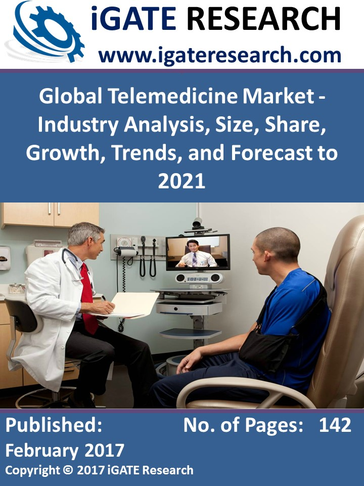 Global Telemedicine Market - Industry Analysis, Size, Share, Growth, Trends, and Forecast to 2021