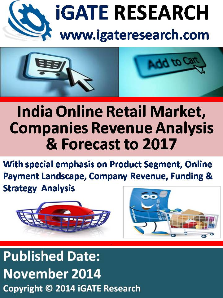 India Online Retail Market, Companies Revenue Analysis and Forecast to 2017
