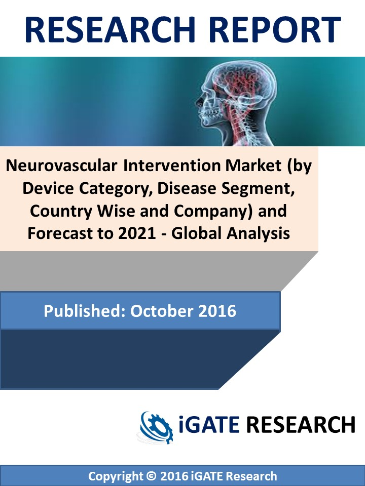 Neurovascular Intervention Market (by Device Category, Disease Segment, Country Wise and Company) and Forecast to 2021 - Global Analysis
