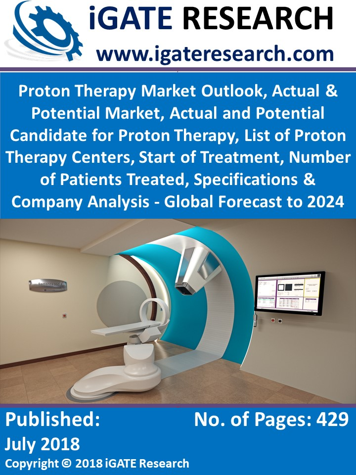 Proton Therapy Market Outlook, Actual & Potential Market, Actual and Potential Candidate for Proton Therapy, List of Proton Therapy Centers, Start of Treatment, Number of Patients Treated, Specifications & Company Analysis - Global Forecast to 2024