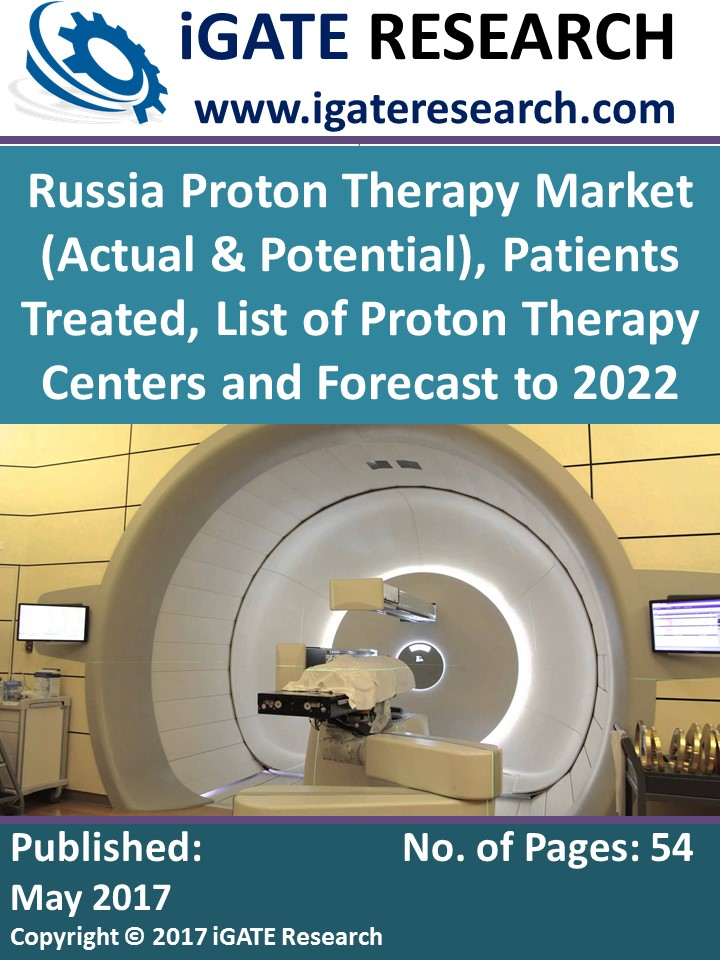 Russia Proton Therapy Market (Actual & Potential), Patients Treated, List of Proton Therapy Centers and Forecast to 2022