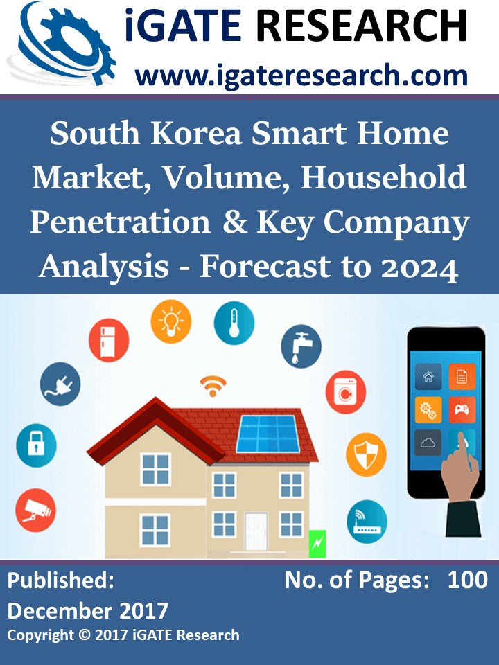 South Korea Smart Home Market, Volume, Household Penetration & Key Company Analysis - Forecast to 2024